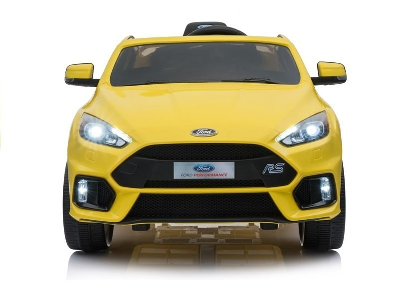 Auto na akumulator Ford Focus RS Żółte